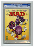"""Magazines:Mad, Mad #281 Gaines File Copy (EC, 1988) CGC NM 9.4 White pages. SamViviano cover. """"St. Elsewhere"""" and """"A Different World"""" paro..."""