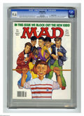 """Magazines:Mad, Mad #301 Gaines File Copy (EC, 1991) CGC NM+ 9.6 White pages.Richard Williams cover. """"Ghost"""" and """"Arachnophobia"""" movie paro..."""