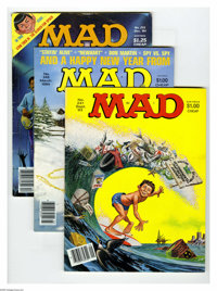 Mad Box Lot (EC, 1982-2005) Condition: Average VG/FN. A whopping 148 issues of Mad magazine. Issues include: #231, 241...