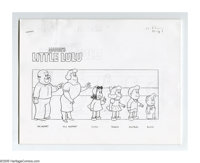 The Little Lulu Show Script, Group of 6 (HBO, 1994). The animated television series based on the Marjorie Henderson Buel...