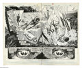 Original Comic Art:Panel Pages, Rick Veitch and Alfredo Alcala - Swamp Thing #68, page 22 and 23 Original Art (DC, 1988). In a ravaged underwater landscape,... (2 Items)