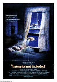 """*batteries not included (Universal, 1987). One Sheet (27"""" X 41""""). A group of residents of a run down apartment..."""