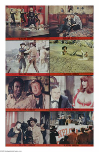 "Blazing Saddles (Warner Brothers, 1974). Mini Lobby Card Set of 8 (8"" X 10""). ""Is that a ten gallon hat..."
