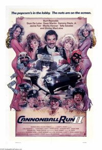 """Cannonball Run II (Warner Brothers, 1984). One Sheet (27"""" X 41""""). The race of 35 stars! This sequel to the ori..."""
