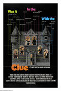 "Movie Posters:Crime, Clue (Paramount, 1985). One Sheet (27"" X 41""). All your favoritesfrom the Parker Brothers game are here -- Mrs. Peacock, Pr..."
