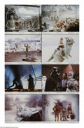 "Movie Posters:Science Fiction, The Empire Strikes Back (20th Century Fox, 1980). Lobby Card Set of8 (11"" X 14""). Sequels need not always be inferior to th... (8Items)"