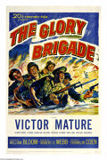 "Movie Posters:War, The Glory Brigade (20th Century Fox, 1953). One Sheet (27"" X 41"").Greek-American Lt. Sam Pryor (Victor Mature) leads a grou..."