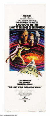 """The Light at the Edge of the World (National General, 1971). Insert (14"""" X 36""""). Pirate Yul Brynner plunders a..."""