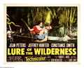 "Movie Posters:Adventure, Lure of the Wilderness (20th Century Fox, 1952). Half Sheet (22"" X 28""). A remake of Jean Renoir's ""Swamp Water,"" this film ..."