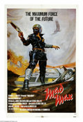 "Movie Posters:Science Fiction, Mad Max (Roadshow Film Distributors, 1979). One Sheet (27"" X 41""). The first of the series that made Mel Gibson famous inter..."