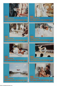 """The Man With the Golden Gun (United Artists, 1974). Lobby Card Set of 8 (11"""" X 14""""). Roger Moore inherited the..."""