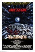"Movie Posters:Comedy, Meteor (AIP, 1979). One Sheet (27"" X 41""). Sean Connery, Brian Keith and Natalie Wood head up an all-star cast working to tr..."