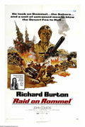 "Movie Posters:War, Raid on Rommel (Universal, 1971). One Sheet (27"" X 41""). CaptainAlex Foster (Richard Burton), assigned to take the port of ..."