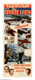"""Movie Posters:Documentary, The Secret Land (MGM, 1948). Insert (14"""" X 36""""). This documentary takes as its subject Admiral Richard Byrd's 1946-1947 Anta..."""