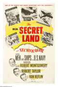 """Movie Posters:Documentary, The Secret Land (MGM, 1948). One Sheet (27"""" X 41""""). This documentary takes as its subject Admiral Richard Byrd's 1946-1947 A..."""
