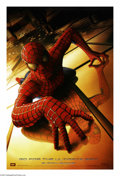 "Movie Posters:Action, Spider-Man (Columbia, 2002). One Sheet (27"" X 41"") Advance. ""Withgreat power comes great responsibility. This is my gift, m..."