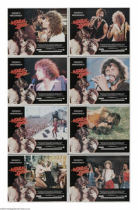 "A Star is Born (Warner Brothers, 1977). Lobby Card Set of 8 (11"" X 14""). Husband and wife writers John Gregory..."