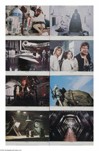 """Star Wars (20th Century Fox, 1977) Lobby Card Set of 8 (11"""" X 14""""). This is the rare 77/21-0 set. The """"0&..."""