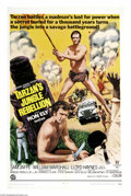 "Movie Posters:Adventure, Tarzan's Jungle Rebellion (Banner Productions, Inc., 1967). OneSheet (27"" X 41""). A two-part episode of TV's ""Tarzan"" was c..."