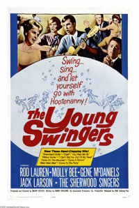 """The Young Swingers (20th Century Fox, 1963). One Sheet (27"""" X 41""""). O.K., this is not what you're thinking! A..."""