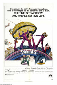 """Z.P.G. (Paramount, 1972). One Sheet (27"""" X 41""""). In a future world where pollution is rampant and the populati..."""