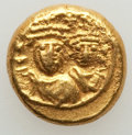 Ancients:Byzantine, Ancients: Heraclius (AD 610-641) and Heraclius Constantine (AD613-641). AV solidus (4.43 gm). XF....