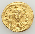 Ancients:Byzantine, Ancients: Phocas (AD 602-610). AV solidus (4.34 gm). AboutXF....