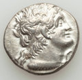 Ancients:Greek, Ancients: PTOLEMAIC EGYPT. Cleopatra III and Ptolemy IX (116/5-107BC). AR tetradrachm (13.67 gm). AU....