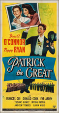 "Movie Posters:Comedy, Patrick the Great (Universal, 1945). Three Sheet (41"" X 79"").Comedy.. ..."