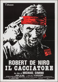"Movie Posters:Academy Award Winners, The Deer Hunter (Titanus, 1979). Italian 2 - Fogli (39.25"" X55.25""). Academy Award Winners.. ..."