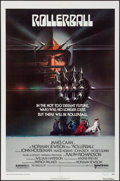 "Movie Posters:Science Fiction, Rollerball (United Artists, 1975). Autographed One Sheet (27"" X41""). Science Fiction.. ..."