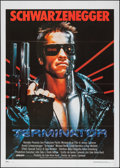 "Movie Posters:Science Fiction, The Terminator (Orion, 1984). Italian 2 - Fogli (39.25"" X 55"").Science Fiction.. ..."