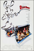 """Movie Posters:Animation, Who Framed Roger Rabbit (Buena Vista, 1988). One Sheet (26.75"""" X39.75""""). Animation.. ..."""