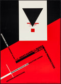Movie Posters:Miscellaneous, The Avant-Garde in Russia New Perspectives: Suprematism by KazimirMalevich (Alan Lithographers, 1980). Museum Poster...