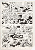 Carmine Infantino and Bob Oksner Supergirl #18 Pages 7 and 8 Original Art Group  Comic Art