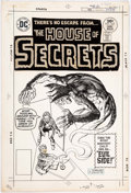 Original Comic Art:Covers, Jack Sparling and Vince Colletta House of Secrets #143 Cover Original Art (DC Comics, 1976)....