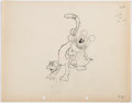 Animation Art:Production Drawing, Mickey's Nightmare Baby Mouse Animation Drawing (Walt Disney,1932).... (Total: 2 Original Art)
