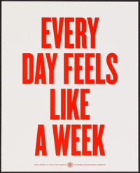 """Facebook Motivational Posters (Facebook, 2010s). Screen Print Posters (2) (16"""" X 20""""). Miscellaneous. ... (Tot..."""