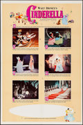Movie Posters:Animation, Cinderella & Other Lot (Buena Vista, R-1965). One ...
