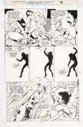Alan Davis and Mark Farmer Excalibur #56 Story Page 14 Original Art (Marvel, 199 Comic Art