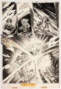 Original Comic Art:Panel Pages, Val Mayerik and Sonny Trinidad Rampaging Hulk #4 Page 54Original Art (Marvel, 1977)....