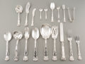 Silver Flatware, American:Dominick & Haff, A Sixty-One Piece Dominick & Haff Flatware Service, New YorkCity, circa 1900. Marks: STERLING, (logotype), HYMANBERG... (Total: 61 Items)
