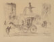Salvador Dalí (Spanish, 1904-1989) Plaza (Plaza Fountain) from New York City series, 1969 Engraving on Auvergne p...
