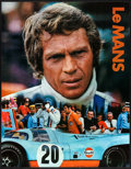 "Movie Posters:Sports, Le Mans (National General, 1971). Identical Gulf Promotional Posters (2) (17"" X 22""). Sports.. ... (Total: 2 Items)"
