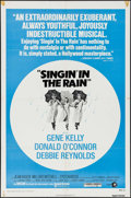 """Movie Posters:Musical, Singin' in the Rain (MGM, R-1975). One Sheet (27"""" X 41""""). Musical.. ..."""