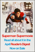 "Movie Posters:Action, Superman the Movie (Warner Brothers, 1978). Reader's Digest Poster(27"" X 40""). Action.. ..."