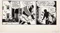 Original Comic Art:Panel Pages, Stan Asch (attributed) All-Star Comics Unpublished PartialPage Original Art (DC Comics, c. 1940s)....