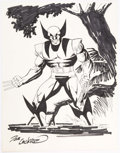 Dave Cockrum - Wolverine Commission Illustration Original Art (c. 1990s) Comic Art
