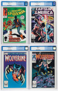 Modern Age (1980-Present):Miscellaneous, Comic Books - Assorted Modern Age Comics CGC-Graded Group of 4 (Various Publishers, 1982-88).... (Total: 4 Comic Books)