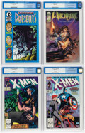 Modern Age (1980-Present):Miscellaneous, Comic Books - Assorted Modern Age Comics CGC-Graded Group of 4 (Various Publishers, 1988-95) CGC NM 9.4 White pages.... (Total: 4 Comic Books)